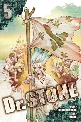 Dr. STONE, Vol. 5: Tale for the Ages Cover Image