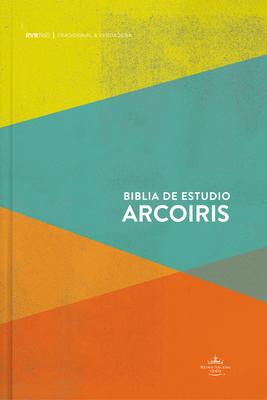 RVR 1960 Biblia de Estudio Arcoiris, multicolor tapa dura Cover Image