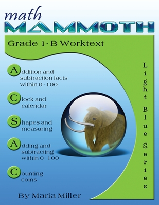 Math Mammoth Grade 1-B Worktext Cover Image