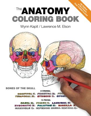 The Anatomy Coloring Book Cover Image