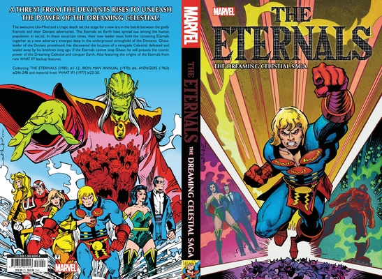 Eternals: The Dreaming Celestial Saga Cover Image