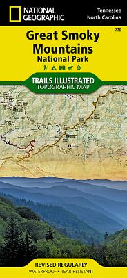 Great Smoky Mountains National Park (National Geographic Maps: Trails Illustrated #229) Cover Image