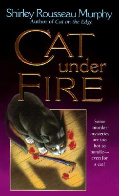 Cat Under Fire: A Joe Grey Mystery Cover Image