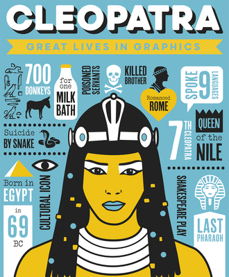 Great Lives in Graphics: Cleopatra Cover Image