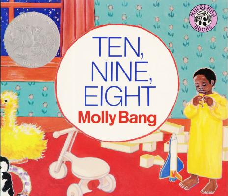 Ten, Nine, Eight Board Book Cover Image