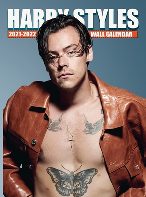 HARRY STYLES Calendar 2021-2022: EXCLUSIVE Harry Styles Photos (8.5x11 Inches Large Size) 18 Months Wall Calendar Cover Image