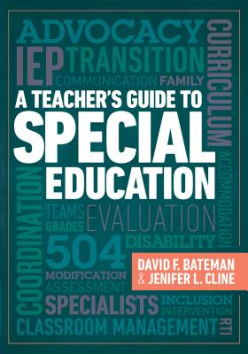 A Teacher's Guide to Special Education: A Teacher's Guide to Special Education Cover Image