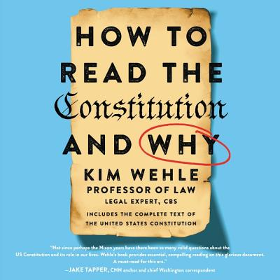 How to Read the Constitution--And Why Cover Image