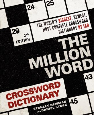 The Million Word Crossword Dictionary, 2nd Edition Cover Image