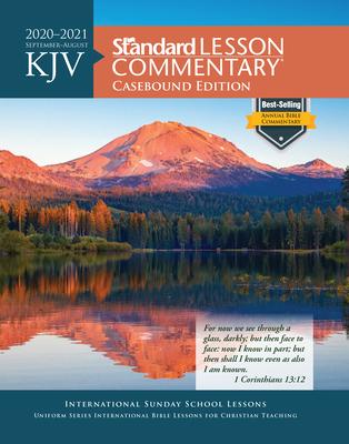 KJV Standard Lesson Commentary® Casebound Edition 2020-2021 Cover Image