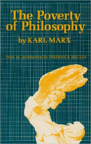 The Poverty of Philosophy Cover Image