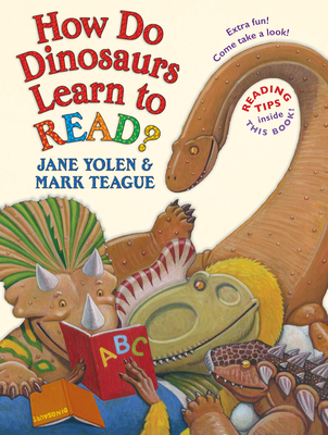 How Do Dinosaurs Learn to Read? (How Do Dinosaurs...?) Cover Image