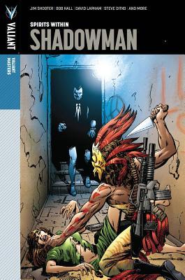 Valiant Masters: Shadowman Volume 1 - Spirits Within (Valiant Masters. Shadowman) Cover Image