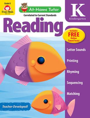 At Home Tutor Reading, Grade K (At-Home Tutor) Cover Image