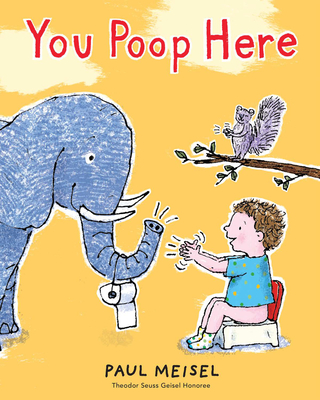 Cover for You Poop Here