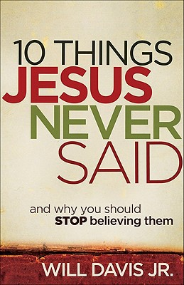 10 Things Jesus Never Said Cover