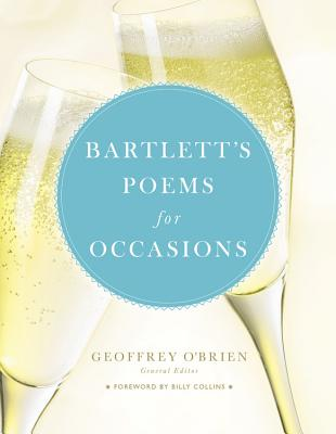 Bartlett's Poems for Occasions Cover Image