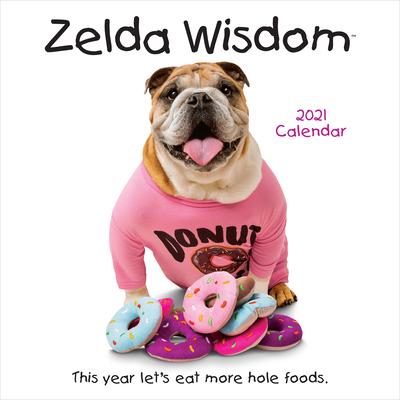 Zelda Wisdom 2021 Wall Calendar Cover Image