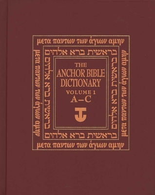 The Anchor Yale Bible Dictionary, A-C Cover