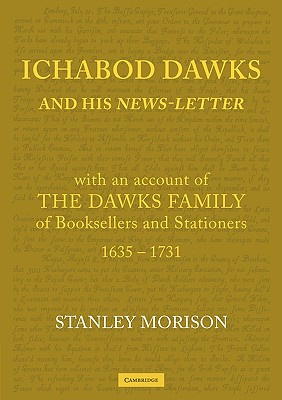 Ichabod Dawks and His Newsletter: With an Account of the Dawks Family Cover Image