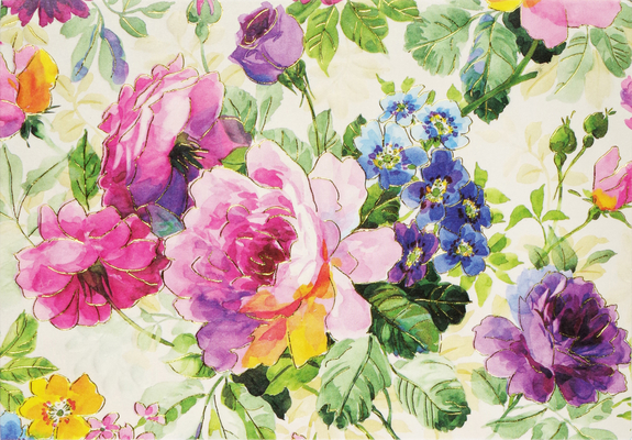 Peony Garden Note Cards Cover Image