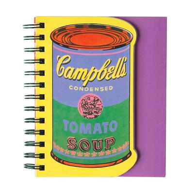 Andy Warhol Soup Can Layered Journal Cover Image