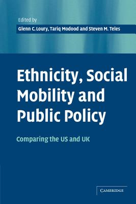 Ethnicity, Social Mobility, and Public Policy Cover Image