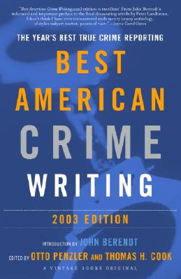The Best American Crime Writing Cover