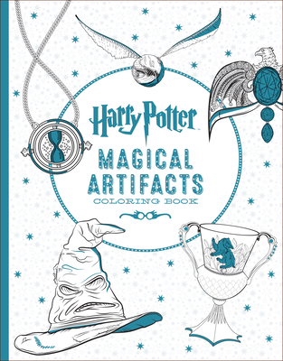 Harry Potter Magical Artifacts Coloring Book Cover Image