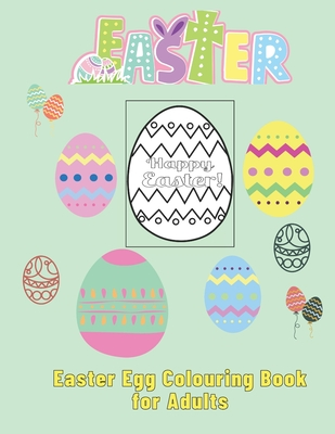 Easter Egg Colouring Book for Adults Cover Image