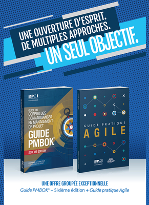 A Guide to the Project Management Body of Knowledge (PMBOK(R) Guide-Sixth Edition / Agile Practice Guide Bundle (FRENCH) Cover Image