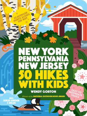 50 Hikes with Kids: New York, Pennsylvania, and New Jersey Cover Image