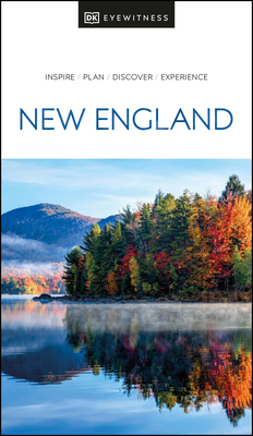 DK Eyewitness New England (Travel Guide) Cover Image
