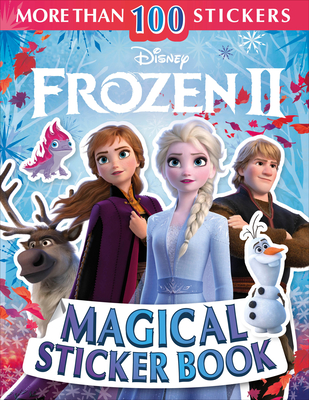 Disney Frozen 2 Magical Sticker Book (Ultimate Sticker Book) Cover Image