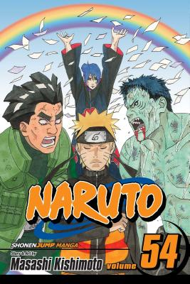 Naruto, Vol. 54 cover image