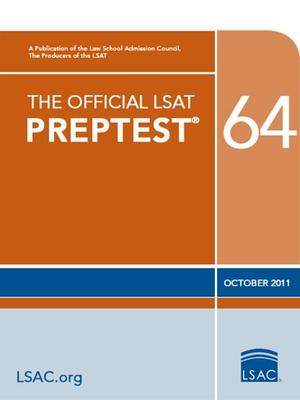 The Official LSAT Preptest 64: (oct. 2011 Lsat) Cover Image