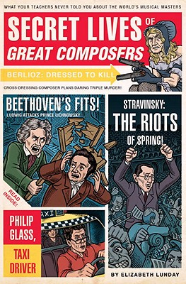 Secret Lives of Great Composers Cover