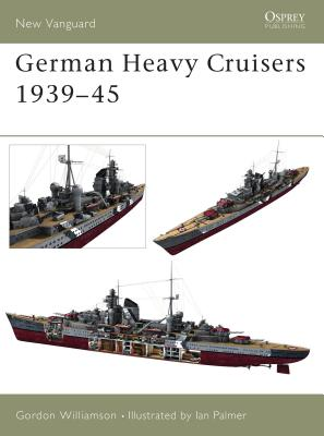 German Heavy Cruisers 1939-45 Cover