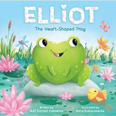 Cover for Elliot the Heart-Shaped Frog