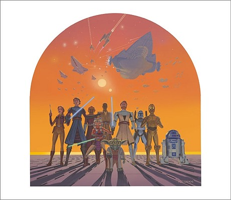The Art of Star Wars: The Clone Wars Cover Image