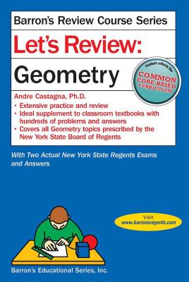 Let's Review Geometry (Barron's Regents NY) Cover Image