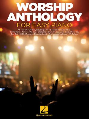 Worship Anthology for Easy Piano Cover Image