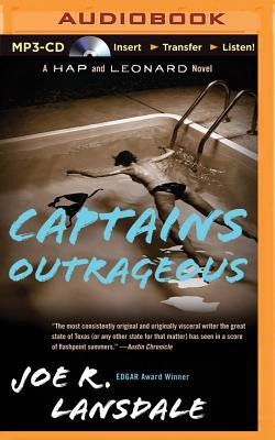 Captains Outrageous (Hap and Leonard #6) Cover Image