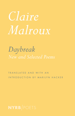 Daybreak: New and Selected Poems Cover Image