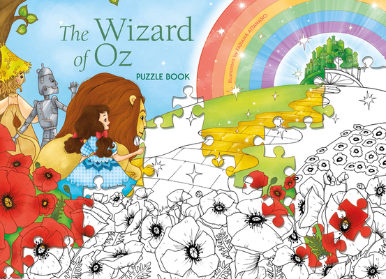 The Wizard of Oz Puzzle Book Cover Image