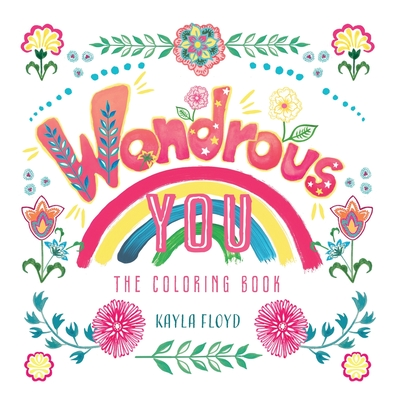 Wondrous You: The Coloring Book Cover Image