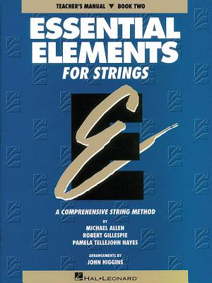 Essential Elements for Strings - Book 2 (Original Series): Teacher Manual Cover Image
