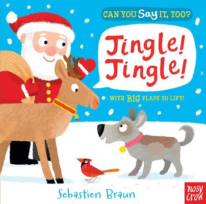 Cover for Can You Say It, Too? Jingle! Jingle!