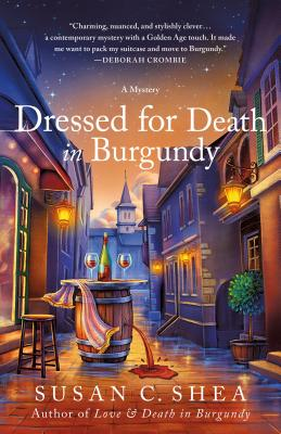 Dressed for Death in Burgundy: A French Village Mystery (The French Village Mysteries #2) Cover Image