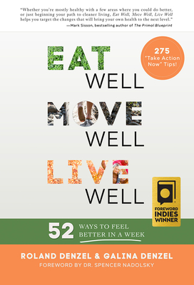 Cover for Eat Well, Move Well, Live Well